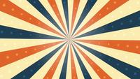 American Vintage Background Rotation Animation