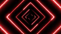 Abstract Digital Background Neon Maze Seamless Loop