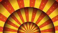 Fondo de Merry-Go-Round animado del circo de la vendimia