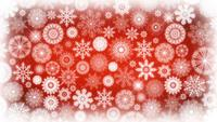 Seamless Loop Of Christmas Snowflakes Background