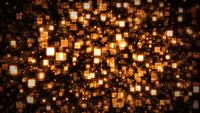 Seamless Abstract Lighted Square Particles Background