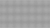 Dynamic Black And White Composition With Dots Scaling