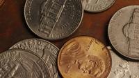 Rotation court métrage - pièces monétaires américaines - Argent 0290