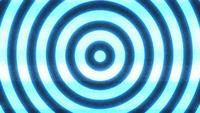 Hypnotic Background With Seamless Looping Circles