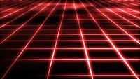 Abstract Technology Grid Background Loop