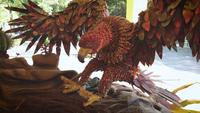 örn och boet dekoration i zoo