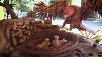 Eagle And Nest Craft In Zoo ZOO01