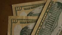 Roterend schot van Amerikaans geld (valuta) - GELD 519