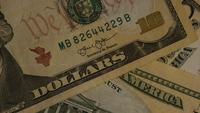Roterend schot van Amerikaans geld (valuta) - GELD 501