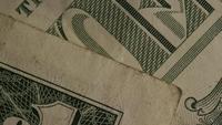 Roterend schot van Amerikaans geld (valuta) - GELD 490