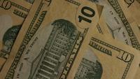 Roterend schot van Amerikaans geld (valuta) - GELD 520