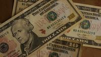 Roterend schot van Amerikaans geld (valuta) - GELD 511