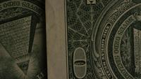 Rotating shot of American money (currency) - MONEY 479