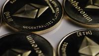 Plano giratorio de Ethereum Bitcoins (criptomoneda digital) - BITCOIN ETHEREUM 0074