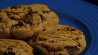 Cinematic, Rotating Shot of Cookies on a Plate - COOKIES 371