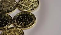 Roterande skott av Bitcoins (Digital Cryptocurrency) - BITCOIN 0352