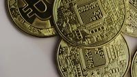 Tiro giratorio de Bitcoins (criptomoneda digital) - BITCOIN 0383