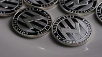 Toma giratoria de Litecoin Bitcoins (criptomoneda digital) - BITCOIN LITECOIN 0095