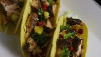 Rotating shot of delicious, fish tacos - FOOD 010
