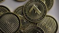 Rotationsskott av Litecoin Bitcoins (digital cryptocurrency) - BITCOIN LITECOIN 0068