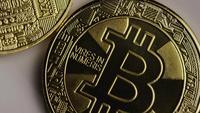 Tiro giratorio de Bitcoins (criptomoneda digital) - BITCOIN 0342