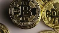 Plan tournant de Bitcoins (crypto-monnaie numérique) - BITCOIN 0423