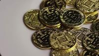 Plan tournant de Bitcoins (crypto-monnaie numérique) - BITCOIN 0391
