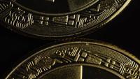 Tiro giratorio de Bitcoins (criptomoneda digital) - BITCOIN 0468
