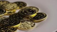 Plan tournant de Bitcoins (crypto-monnaie numérique) - BITCOIN 0408