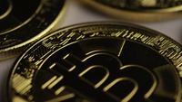 Tiro rotativo de Bitcoins (cryptocurrency digital) - BITCOIN 0269