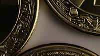 Tiro giratorio de Bitcoins (criptomoneda digital) - BITCOIN 0255