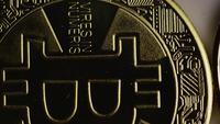 Tiro giratorio de Bitcoins (criptomoneda digital) - BITCOIN 0346
