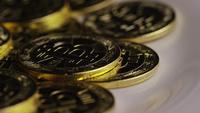Tiro giratorio de Bitcoins (criptomoneda digital) - BITCOIN 0321