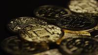 Tiro rotativo de Bitcoins (cryptocurrency digital) - BITCOIN 0607