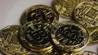 Plan tournant de Bitcoins (crypto-monnaie numérique) - BITCOIN 0393