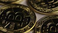 Tiro rotativo de Bitcoins (cryptocurrency digital) - BITCOIN 0270