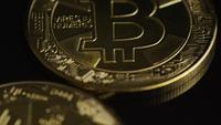 Tiro rotativo de Bitcoins (cryptocurrency digital) - BITCOIN 0478