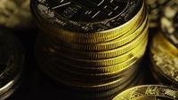 Tiro rotativo de Bitcoins (cryptocurrency digital) - BITCOIN 0624