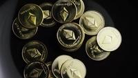 Plan tournant de Bitcoins (crypto-monnaie numérique) - BITCOIN ETHEREUM 166