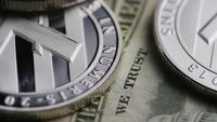 Plan tournant de Bitcoins (crypto-monnaie numérique) - BITCOIN LITECOIN 612