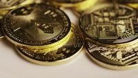 Foto giratoria de Bitcoins (criptomoneda digital) - BITCOIN MONERO 107