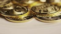 Tiro giratorio de Bitcoins (criptomoneda digital) - BITCOIN MONERO 119