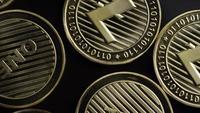 Roterande skott av Bitcoins (digital cryptocurrency) - BITCOIN LITECOIN 274