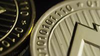 Roterande skott av Bitcoins (Digital Cryptocurrency) - BITCOIN LITECOIN 213