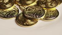 Plan tournant de Bitcoins (crypto-monnaie numérique) - BITCOIN MONERO 104