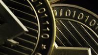 Roterande skott av Bitcoins (Digital Cryptocurrency) - BITCOIN LITECOIN 236