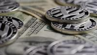 Foto giratoria de Bitcoins (criptomoneda digital) - BITCOIN LITECOIN 617