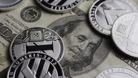 Plan tournant de Bitcoins (crypto-monnaie numérique) - BITCOIN LITECOIN 667
