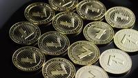 Plan tournant de Bitcoins (crypto-monnaie numérique) - BITCOIN LITECOIN 202