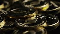 Roterande skott av Bitcoins (Digital Cryptocurrency) - BITCOIN ETHEREUM 157
